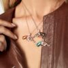 peacemaker gun revolver pendant necklace jewelry collection model photo 2
