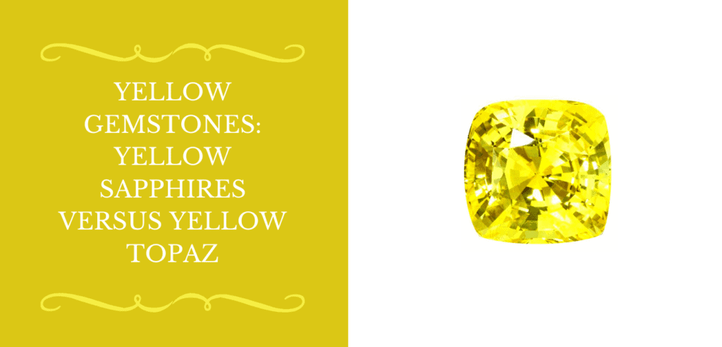 Yellow Gemstones Banner