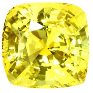 unheated natural yellow sapphire