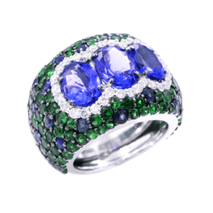 Azure Forest Ring