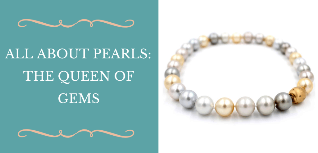all about pearls the queen of gems banner