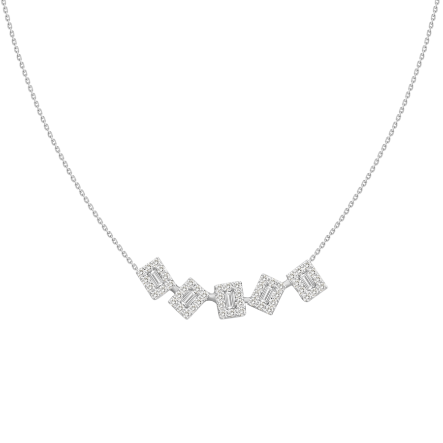 diamond pave baguette mirrors white gold necklace galt & bro pp 2575 w white gold front