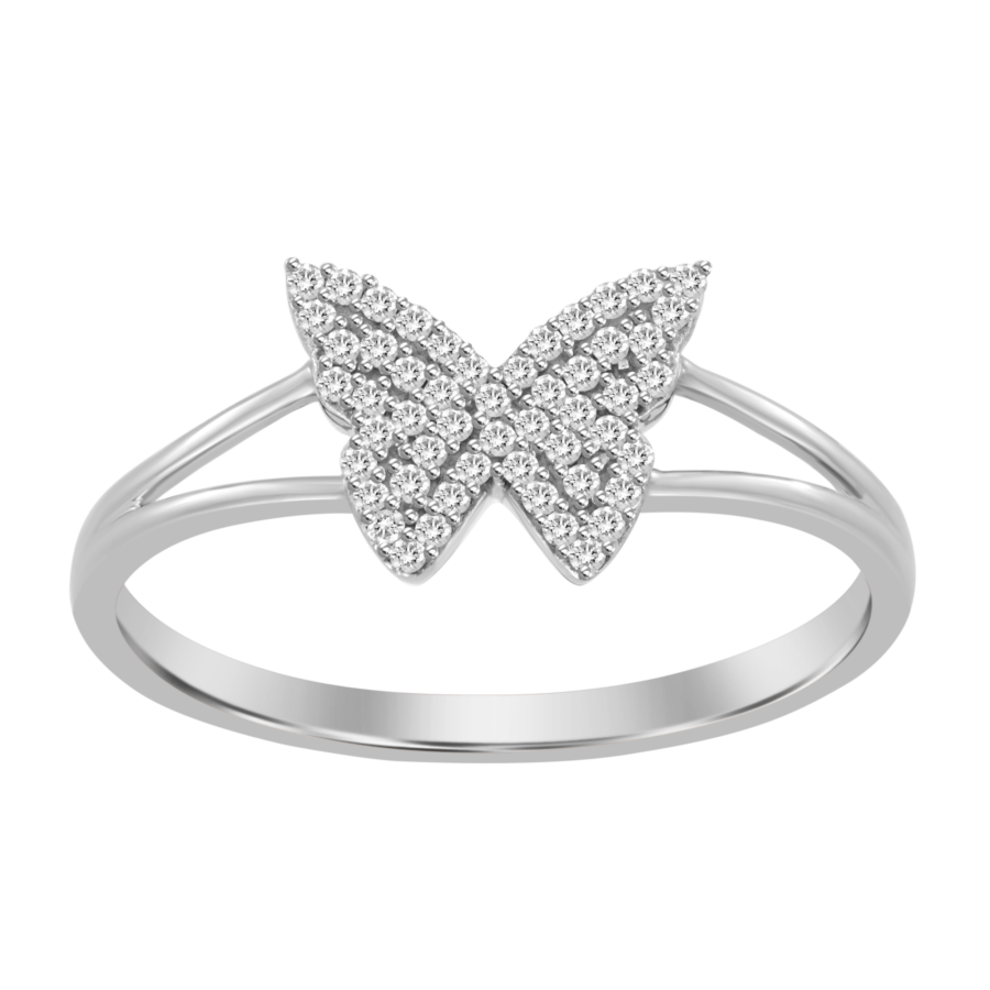 diamond pave butterfly white gold ring galt & bro sr1d 1305 w white gold front