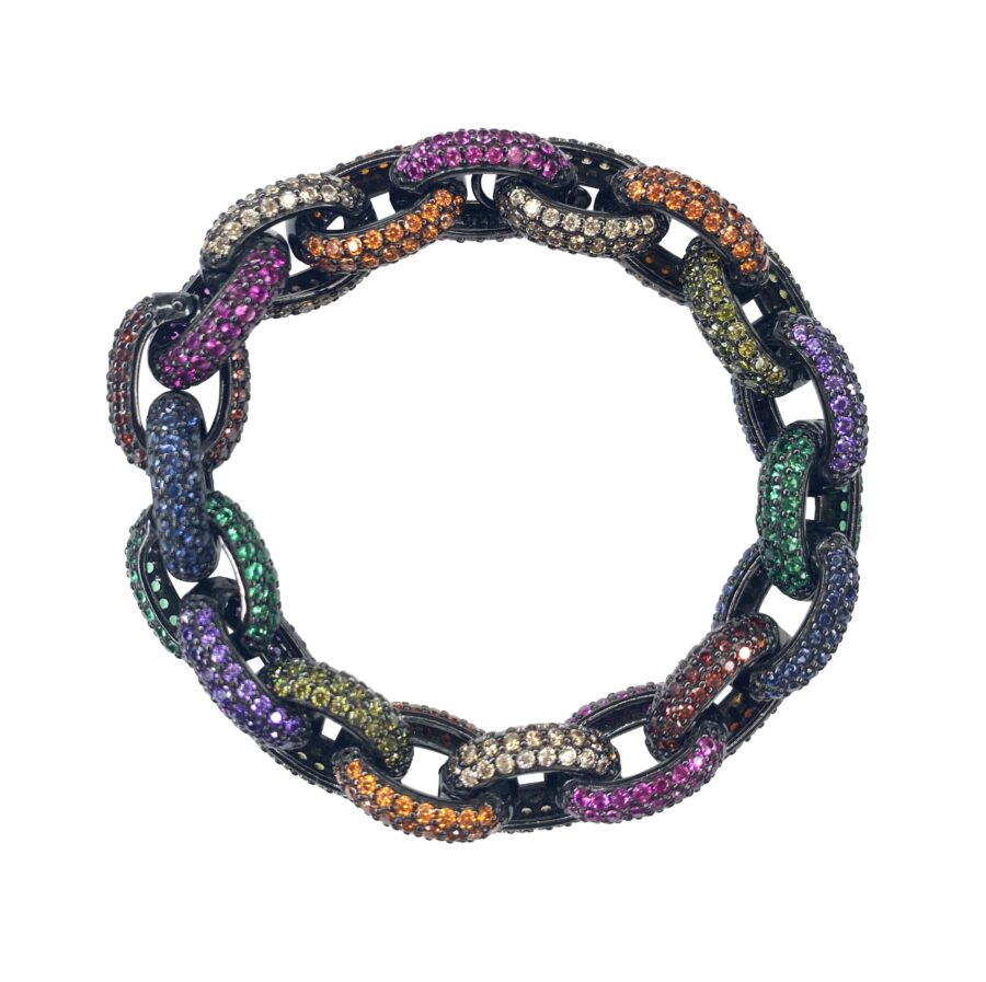 galaxy midnight cable chain bracelet new